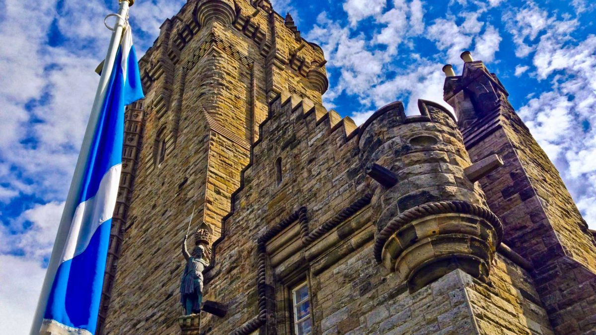 Monumento Nacional a William Wallace en la excursión a Stirling